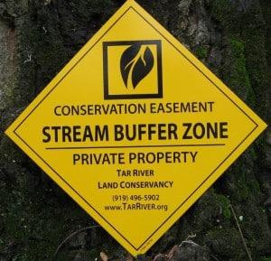 Lynch Creek Farm - TRLC Conservation Easement - Stream Buffer Zone
